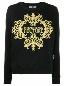 Versace Jeans Couture baroque sweatshirt - Black