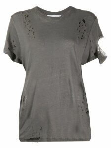 Iro distressed effect T-shirt - Grey