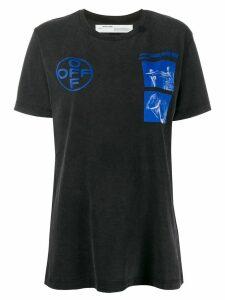Off-White Hardcore Caravaggio print T-shirt - Grey