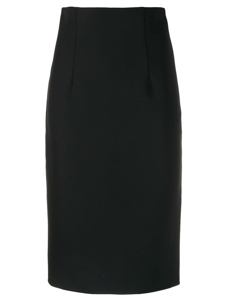 Gianluca Capannolo high-rise pencil skirt - Black