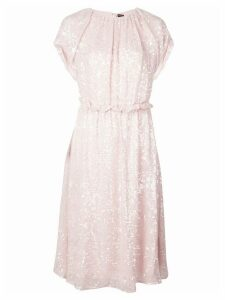 Adam Lippes sequined midi dress - PINK