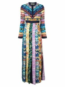 Mary Katrantzou colour-block maxi dress - Multicolour