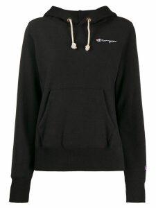 Champion drawstring hoodie - Black