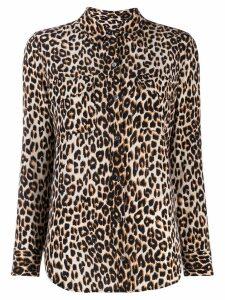 Equipment leopard print shirt - Neutrals