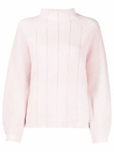 Peserico ribbed knit jumper - Pink