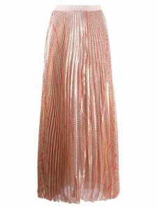 Giambattista Valli striped skirt - Pink