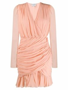 Giambattista Valli draped mini dress - Pink