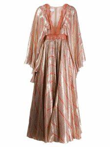 Giambattista Valli printed kimono dress - Pink