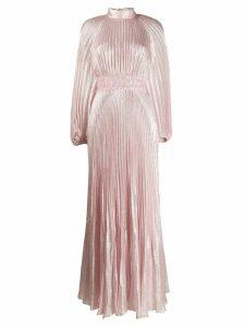 Giambattista Valli pleated evening dress - PINK