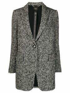 Liu Jo single-breasted coat - Black