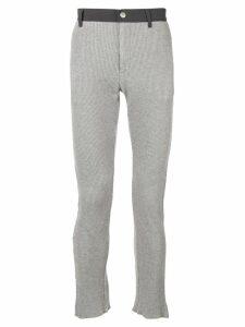 Facetasm stretch cotton trousers - Grey