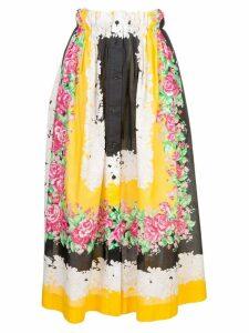 Rachel Comey floral print midi skirt - Multicolour