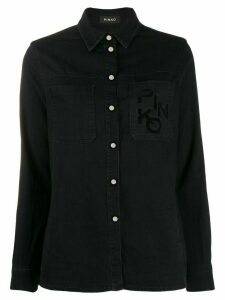 Pinko denim shirt - Black