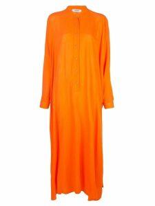 Rachel Comey Mandarin collar shirt dress - Orange