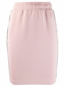 Kappa logo fitted skirt - Pink