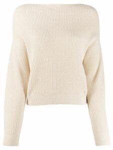 Bellerose ribbed knit jumper - Neutrals
