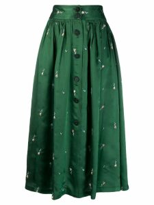 Forte Forte button-up midi skirt - Green