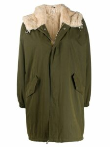 Bellerose flap pocket parka - Green