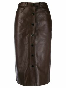 Sandro Paris Nooda skirt - Brown