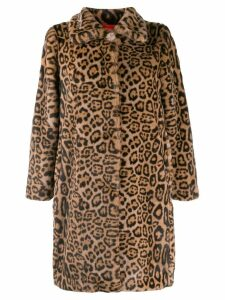 Bellerose leopard print coat - Brown