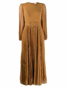 Zimmermann polka dot print dress - Neutrals
