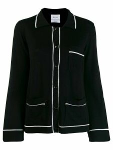Barrie button-up cashmere cardigan - Black