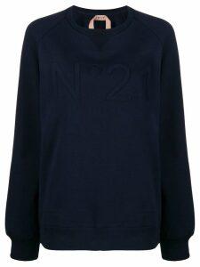 Nº21 classic knitted sweatshirt - Blue