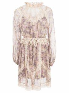 Zimmermann floral print dress - Purple