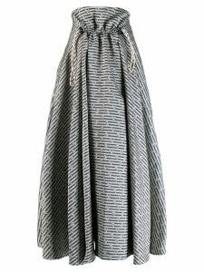 Golden Goose Ayame floral print skirt - Neutrals