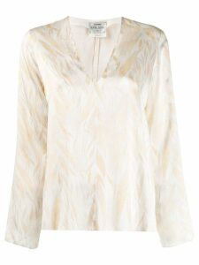 Forte Forte printed blouse - Neutrals