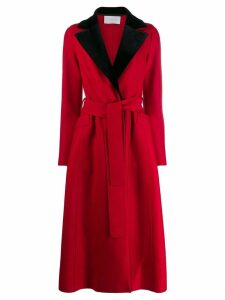 Harris Wharf London flared longline coat
