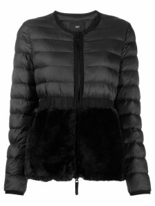 Steffen Schraut padded faux fur jacket - Black