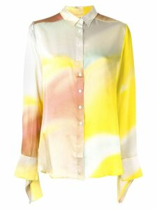 Christopher Esber relaxed-fit printed shirt - Multicolour
