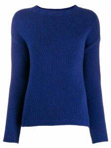 Aragona round neck jumper - Blue
