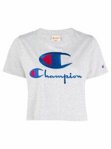 Champion embroidered logo T-shirt - Grey