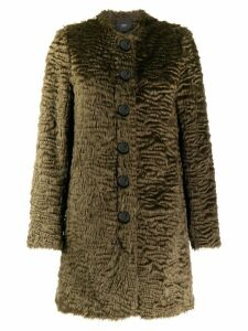 Steffen Schraut faux-fur coat - 17 URBAN GREEN