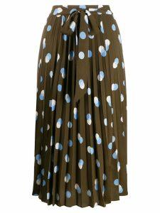 Steffen Schraut Modern Dots skirt - Green