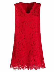 Dolce & Gabbana lace swing dress - Red