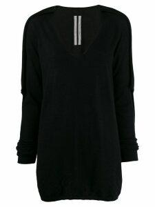 Rick Owens long sweater - Black