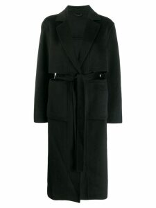 Études single breasted coat - Black