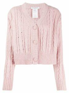 Philosophy Di Lorenzo Serafini crystal embellished cardigan - Pink