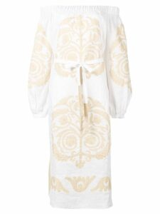 Vita Kin embroidered off-shoulder dress - White