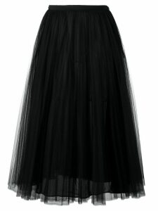 Valentino tulle A-line skirt - Black