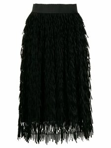 Dolce & Gabbana embroidered high waist skirt - Black