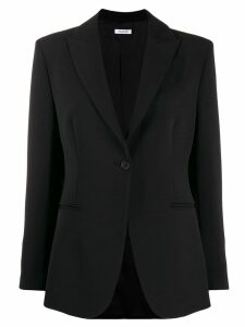 P.A.R.O.S.H. fitted single-breasted blazer - Black