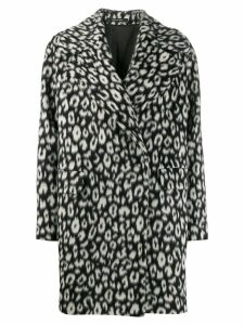 Tagliatore wool single breasted coat - Black