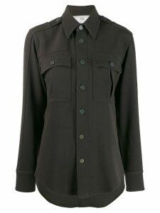 Stella McCartney wool military shirt - Green