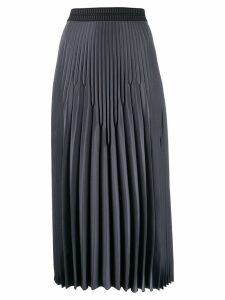 Luisa Cerano pleated midi skirt - Grey