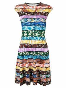Mary Katrantzou colour-block mini dress - Multicolour