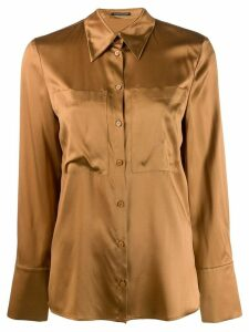 Luisa Cerano button-down shirt - Brown